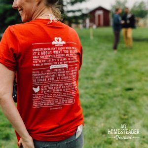 DIY Homesteader Festival T-Shirt