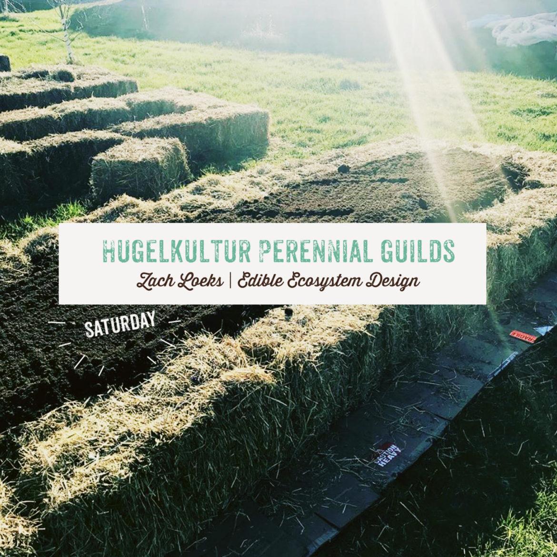 Hugelkultur Perennial Guilds