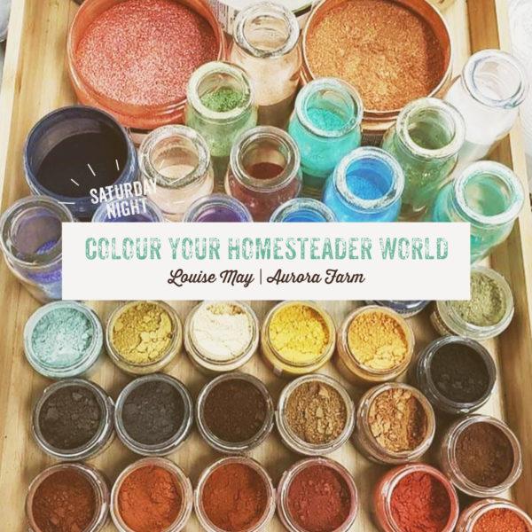 Colour Your Homesteader World