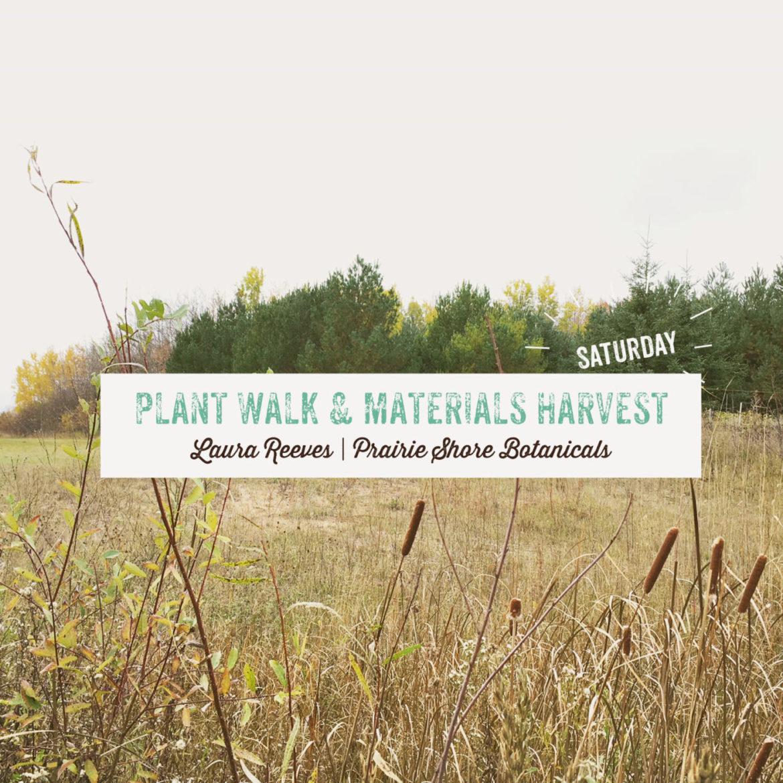 Plant Walk & Materials Harvest