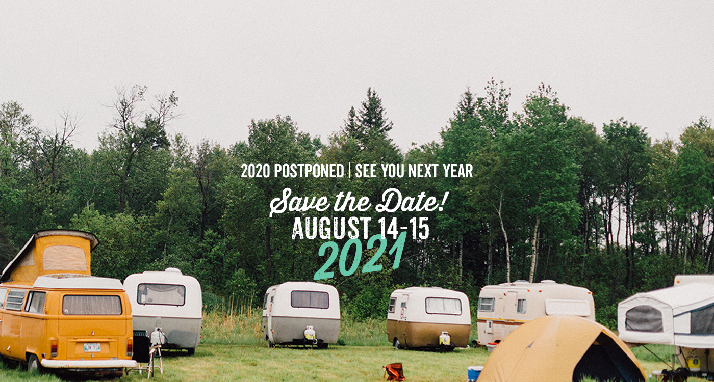 Save the date - August 14-15, 2021